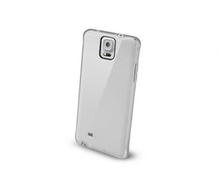 Etui obudowa Cellular Line CLEAR DUO do Samsung Galaxy Note 4, transparentne