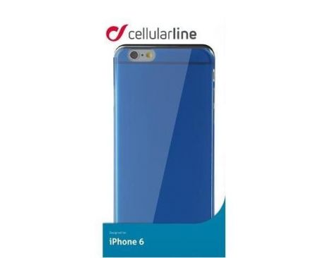 Etui obudowa Cellular Line COLOR SLIM do iPhone 6/6S, niebieskie