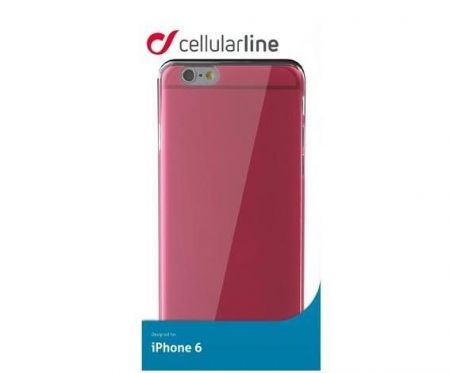 Etui obudowa Cellular Line COLOR SLIM do iPhone 6/6S, różowe