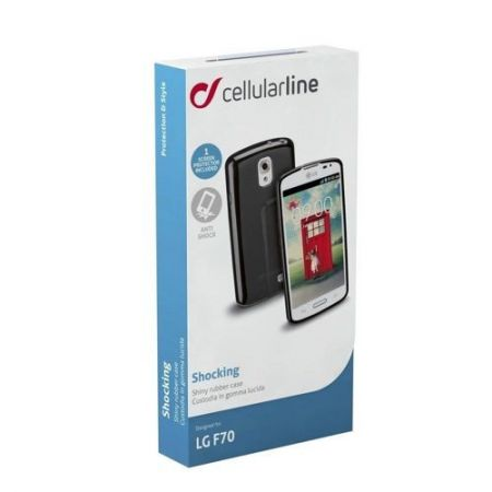 Etui obudowa Cellular Line SCHOCKING do LG F70, czarne