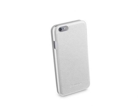 Etui z klapką BOOK ESSENTIAL do iPhone 6/6S, białe