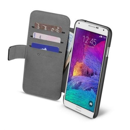 Etui z klapką Cellular Line BOOK AGENDA do Samsung Galaxy Note 4, czarne