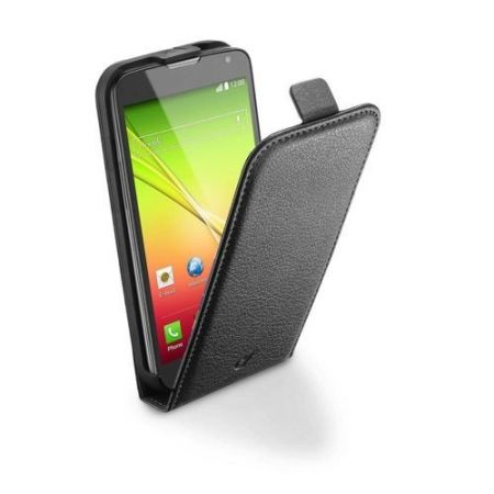 Etui z klapką Cellular Line FLAP ESSENTIAL do LG L90, czarne