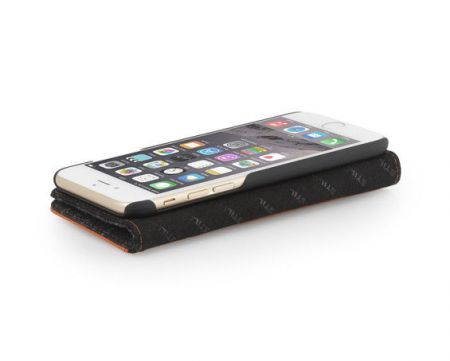 Etui z klapką StilGut Talis Fashion 08 - koniakowe - iPhone 6 Plus