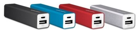FUJIPOWER Universal External Battery - Uniwersalny Power Bank 2200mAh (niebieski)