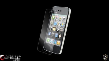 Fola invisible Shield High Definition (HD) na ekran  - iPhone 4 / 4S