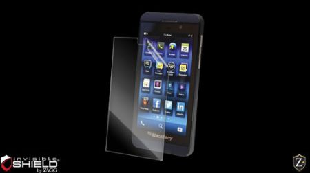 Folia invisible Shield na ekran  - BlackBerry Z10