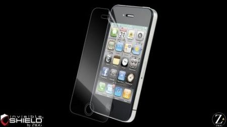 Folia invisible Shield na ekran  - iPhone 4 / 4S