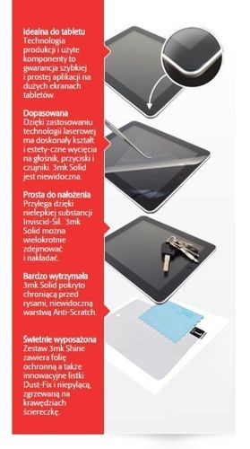 Folia ochronna 3MK Solid do Samsung Galaxy Note 4 (2 sztuki)
