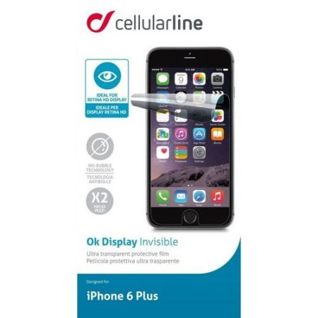 Folia ochronna Cellular Line OK Dipslay do iPhone 6 Plus/6S Plus