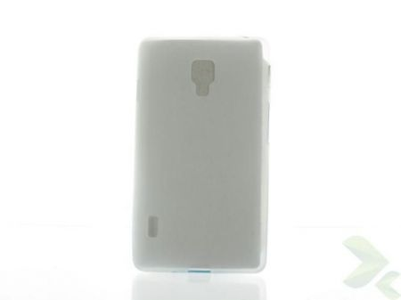 Geffy - Etui LG Swift/Optimus L7 II P710 TPU mat clear