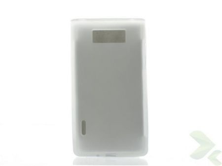 Geffy - Etui LG Swift/Optimus L7 P700 TPU mat clear
