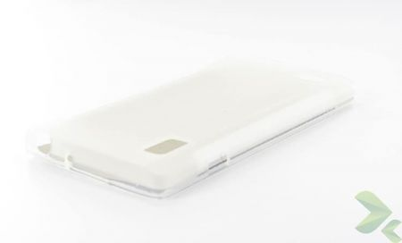 Geffy - Etui LG Swift/Optimus L9 P760 TPU mat clear