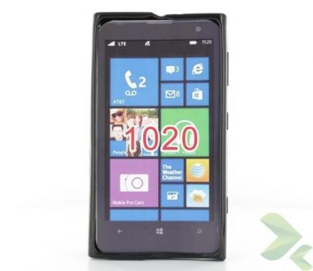 Geffy - Etui Nokia Lumia 1020 TPU solid color black