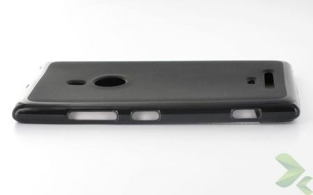 Geffy - Etui Nokia Lumia 925 TPU solid color black