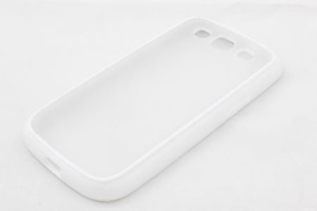 Geffy - Etui Samsung Galaxy S3 TPU dual clear white