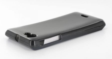 Geffy - Etui Sony Xperia J TPU solid color black