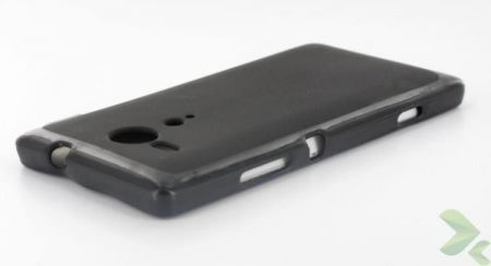 Geffy - Etui Sony Xperia SP TPU solid color black