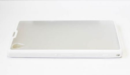 Geffy - Etui Sony Xperia Z1 dual clear white
