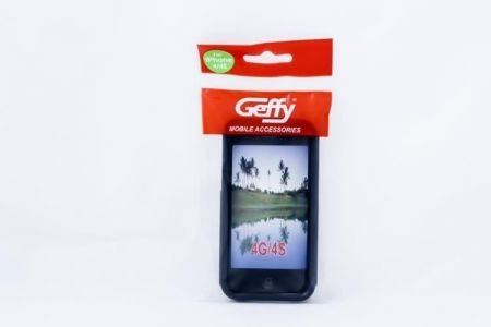 Geffy - Etui iPhone 4/4S TPU S black