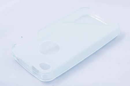 Geffy - Etui iPhone 4/4S TPU S clear