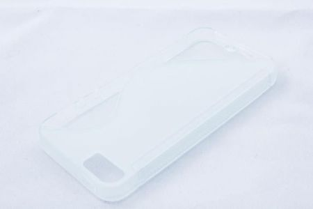 Geffy - Etui iPhone 5/5S TPU S clear