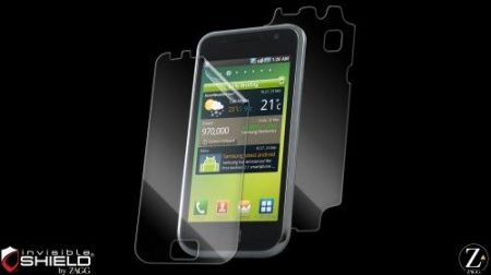 HIT Folia invisible SHIELD na ekran i tył - Samsung Galaxy S i9000 /  S Plus i9001