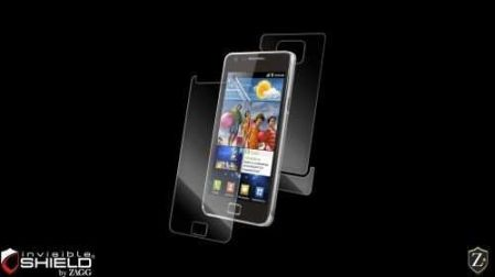 HIT Folia invisible SHIELD na ekran i tył - Samsung Galaxy S2 i9100