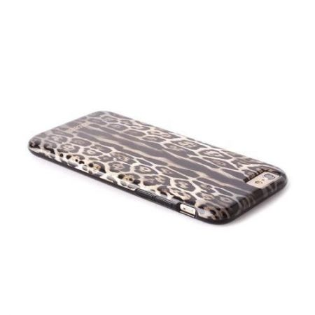 "JUST CAVALLI Leopard Cover - Etui iPhone 6 4.7"" (brązowy)"