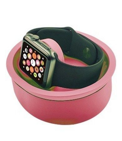 Ładowarka JCPAL Mix Charging Bowl Apple Watch Różowa