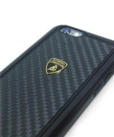 Lamborghini Elemento D2 - Etui iPhone 6 (Real Carbon)