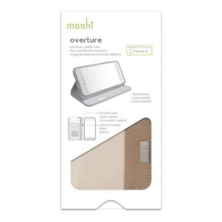 Moshi Overture - Etui iPhone 6 Plus (beżowy)