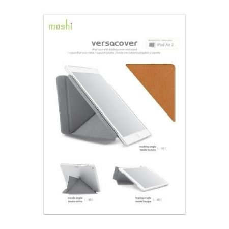 Moshi VersaCover - Etui origami iPad Air 2 (Almond Tan)