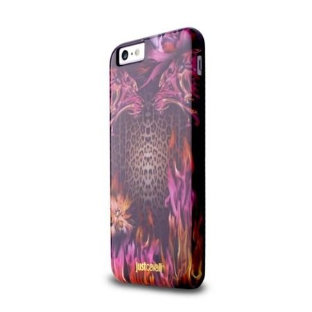 Obudowa PURO JUST CAVALLI Leo Fire Cover Apple iPhone 6 / 6S Różowy