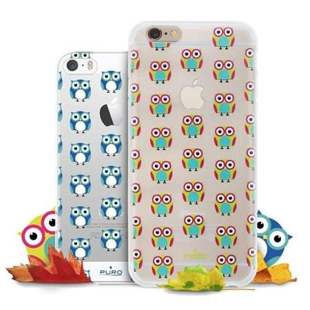 Obudowa PURO OWL Cover + folia na ekran Apple iPhone 6 / 6S Zielony