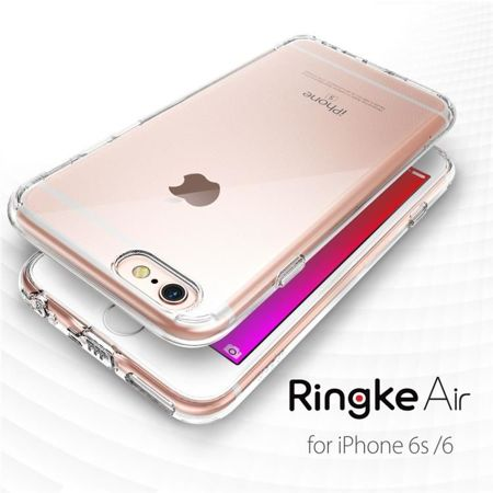 Obudowa Rearth Ringke Air + folia ochronna Apple iPhone 6 / 6S crystal view