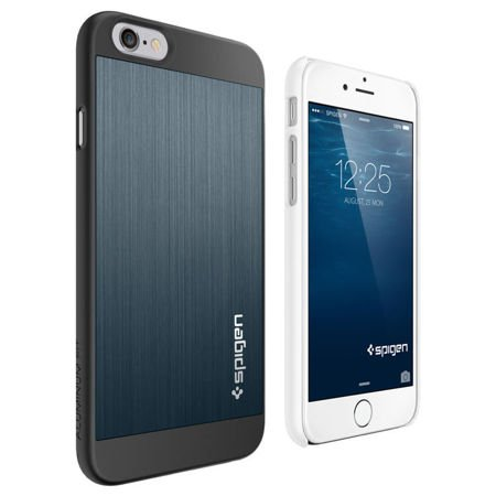 Obudowa Spigen Aluminium Fit  Apple iPhone 6 / 6S Space Gray
