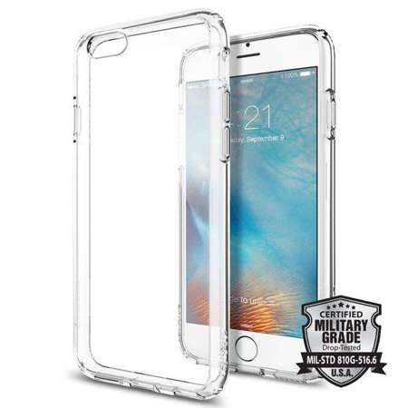Obudowa Spigen Ultra Hybrid Apple iPhone 6 / 6S Crystal Clear