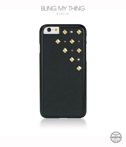Obudowa dla iPhone 6/6S - Bling My Thing Mettalique Collection Solar Flare