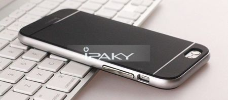 Obudowa iPaky Premium Hybrid Apple iPhone 5 / 5S Srebrna