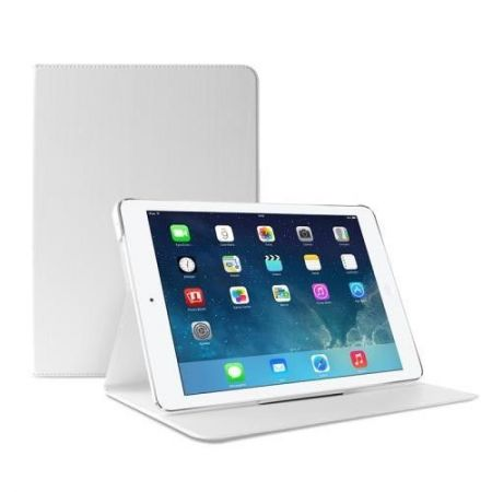 PURO Booklet Slim Case - Etui iPad Air 2 w/Magnet & Stand up (biały)