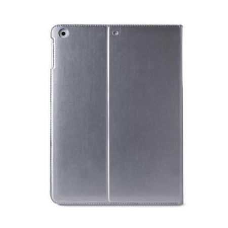 PURO Booklet Slim Case - Etui iPad Air 2 w/Magnet & Stand up (srebrny)