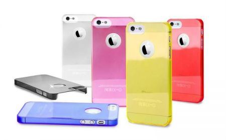 PURO Crystal Cover - Etui iPhone 5 5S