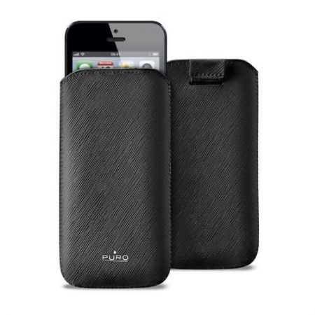 PURO Essential Slim - Etui iPhone 5 5S (czarny)