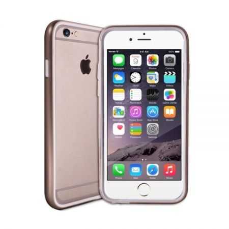 PURO Metallic Bumper Cover - Etui iPhone 6 (złoty)