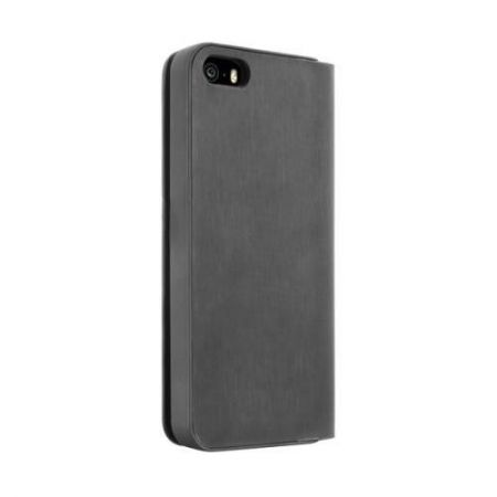 PURO Wallet Case - Etui iPhone 5/5S (czarny)