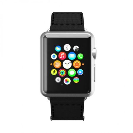 Pasek Incipio Stitch WBND-004-BLKBLK - Apple Watch 42mm Czarny