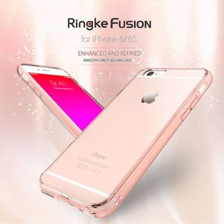 Rearth Ringke Fusion Crystal View + Folia | Etui dla Apple iPhone 6 Plus / 6S Plus