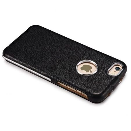 Skórzane etui iCarer Warrior Classic Apple iPhone 6 / 6S Karmelowe