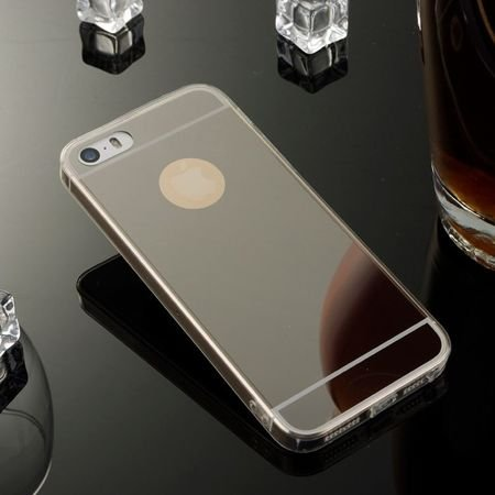 Slim Mirror Case Czarny | Etui dla Apple iPhone 4 / 4S